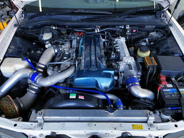 VVTi 2JZ TWINTURBO ENGINE