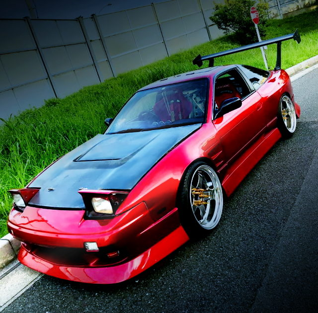 FRONT EXTERIOR RPS13 180SX CANDY RED