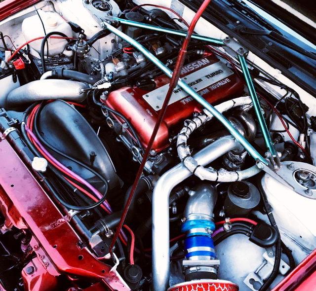 SR20DET TURBO ENGINE FOR 180SX