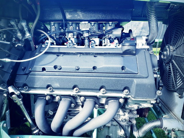ITBs ON VH41DE 4100cc V8 ENGINE