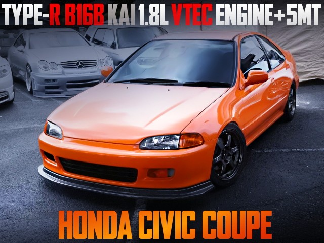 B16B KAI 1800cc VTEC ENGINE INSTALL 1st Gen CIVIC COUPE