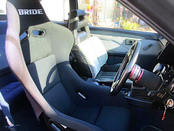 BRIDE FULL BUCKET SEAT FOR DRIVER