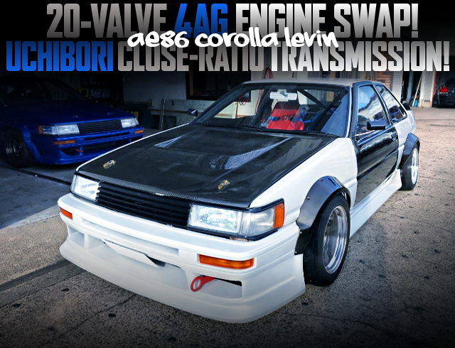 20V 4AG SWAPPED AE86 LEVIN WIDEBODY