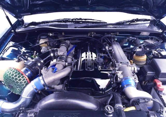 VVTi 2JZ TWINTURBO ENGINE