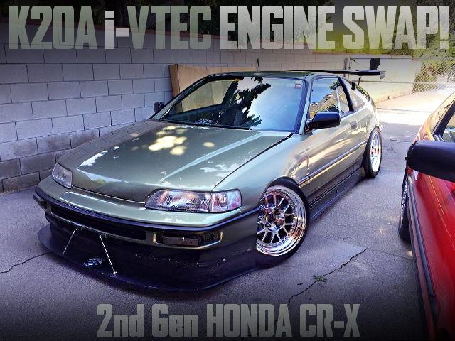K20A i-VTEC ENGINE SWAPPED 2nd Gen CR-X