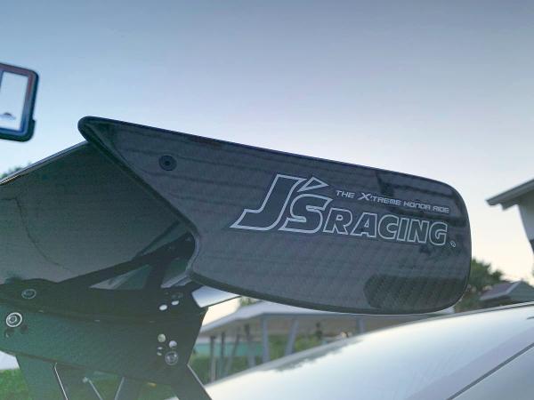 JS RACING CARBON FIBER GT-WING