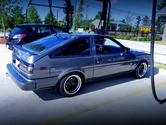 LEFT SIDE EXTERIOR FOR AE86 COROLLA GT-S