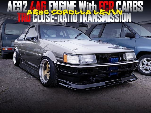 AE92 4AG With FCR CARBS INTO THE AE86 LEVIN
