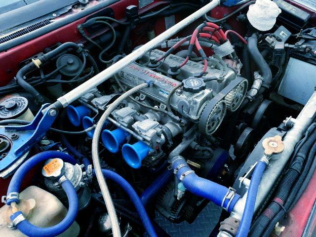 FCR CARBURETORS ON 4A-GE ENGINE