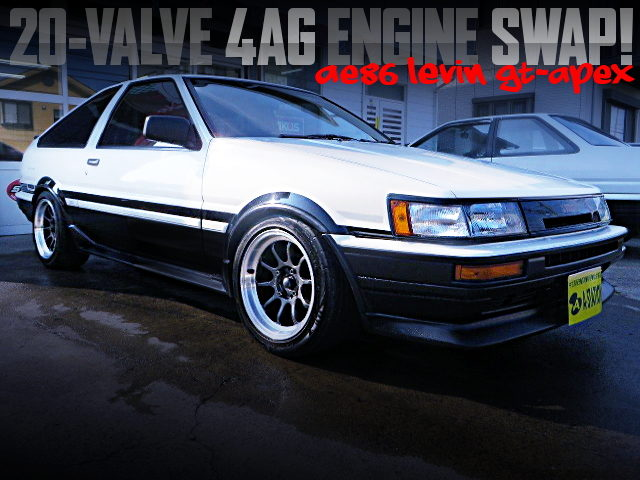 20-VALVE 4AG SWAPPED PANDA AE86 LEVIN GT-APEX