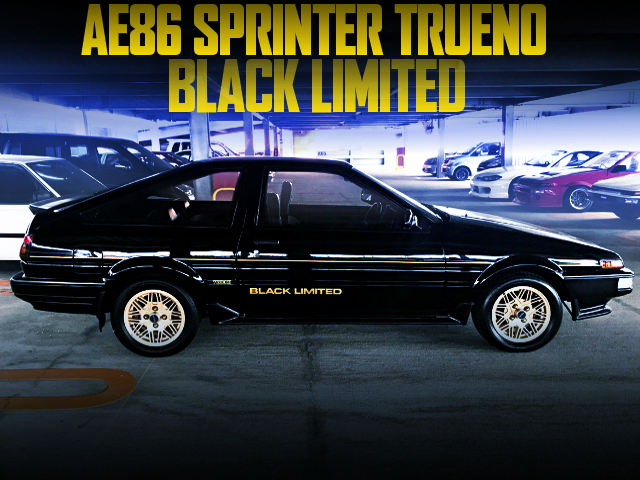NORMAL CONDITION OF AE86 TRUENO BLACK LIMITED