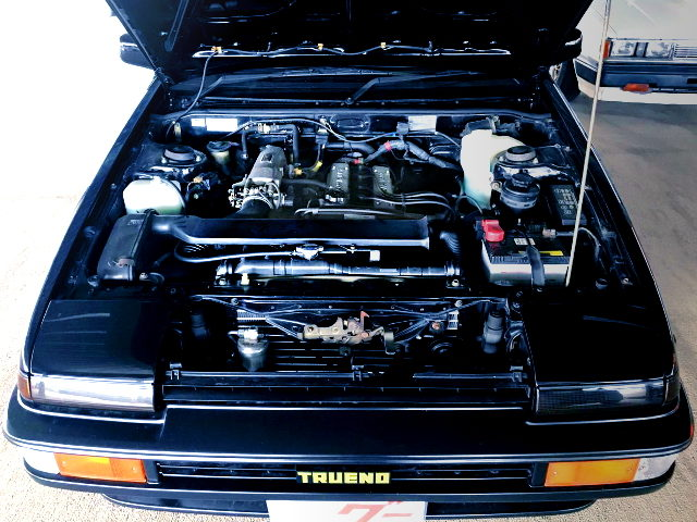 16-VALVE 4A-GE ENGINE FOR AE86 BLACK LIMITED ENGINE ROOM
