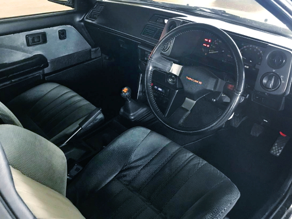 AE86 BLACK LIMITED OF DASHBOARD AND STEERING