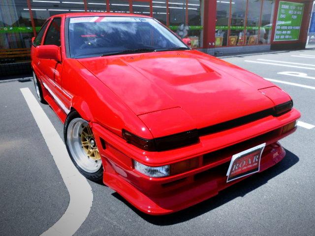 FRONT FACE AE86 TRUENO GT APEX