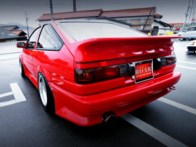 REAR EXTERIOR AE86 TRUENO GT APEX