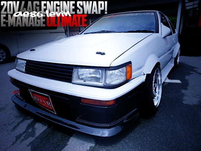 20V 4AG ENGINE SWAPPED AE86 LEVIN 3DOOR
