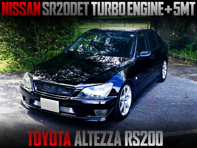 SR20DET TURBO ENGINE SWAPPED SXE10 ALTEZZA RS200