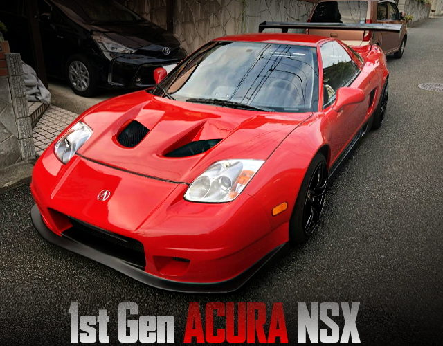 WIDEBODY AND 02HEAD LIGHT FOR 1st Gen ACURA NSX