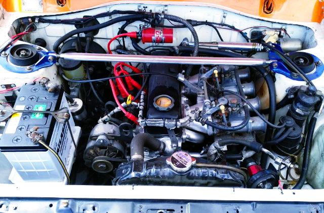 A15 ENGINE WITH SOLEX CARBURETORS