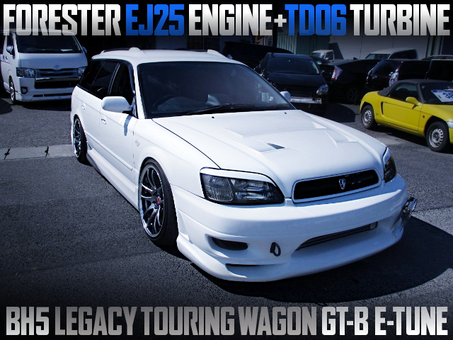 FORESTER EJ25 SWAPPED BH5 LEGACY TOURING WAGON