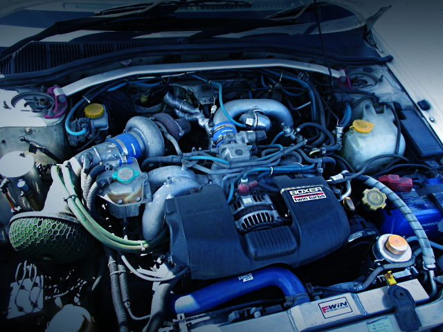 EJ25 BOXER ENGINE WITH TD06 SINGLE TURBO