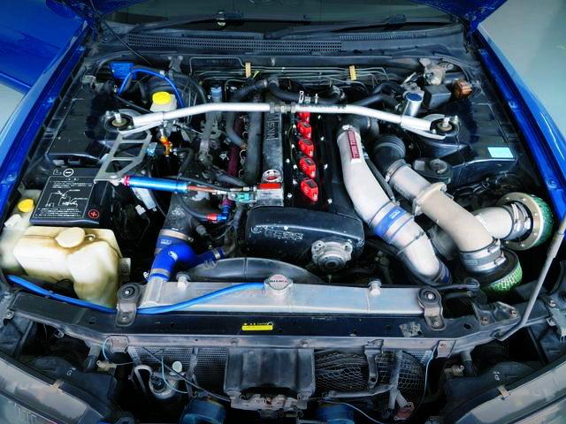 RB26 TWINTURBO ENGINE OF R33 GT-R
