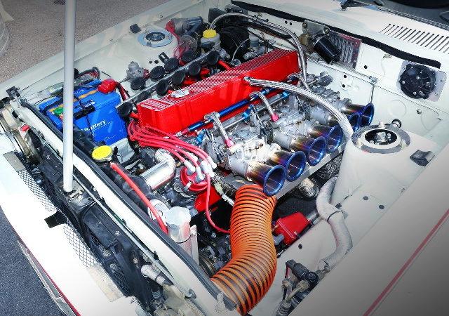 L28 3100cc CARBS ENGINE