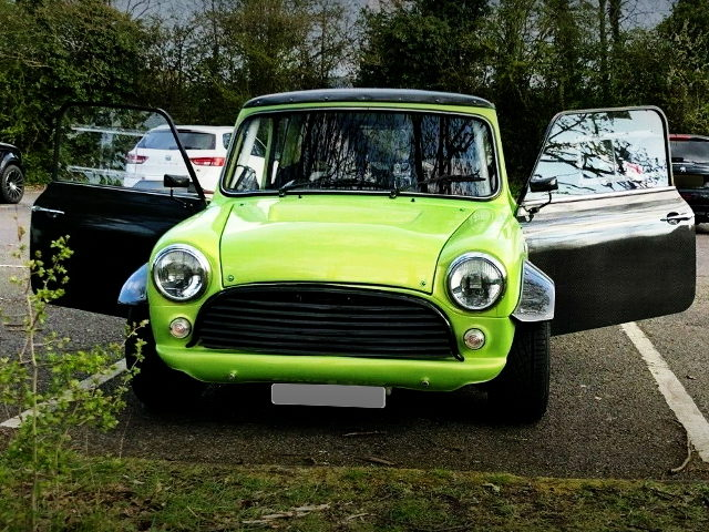 FRONT FACE CLASSIC MINI GREEN