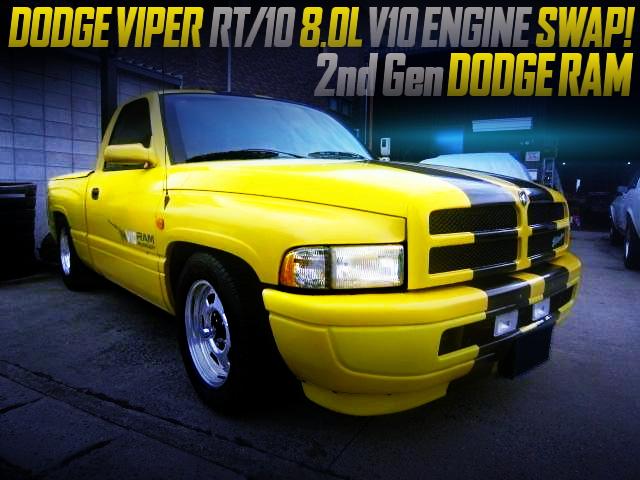 VIPER V10 8000cc ENGINE SWAPPED 2nd Gen DODGE RAM