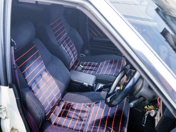 INTERIOR OF SEATS FOR DR30 SKYLINE 4-DOOR