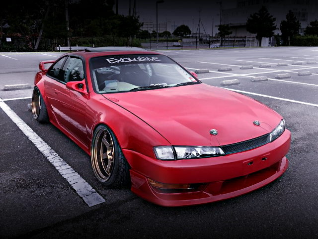 FRONT EXTERIOR S14 SILVIA WIDEBODY