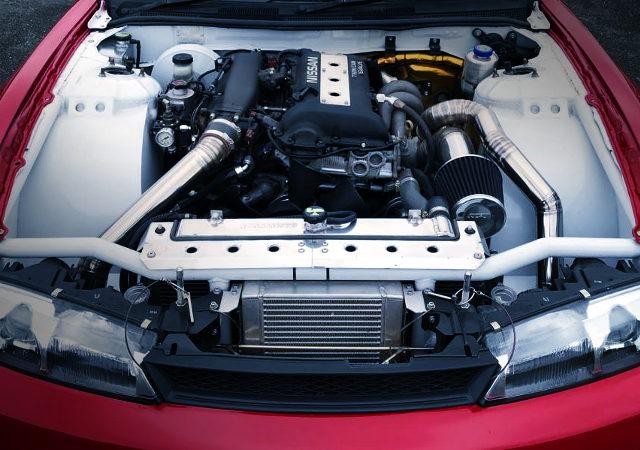 SR20DET TURBO ENGINE FOR S14