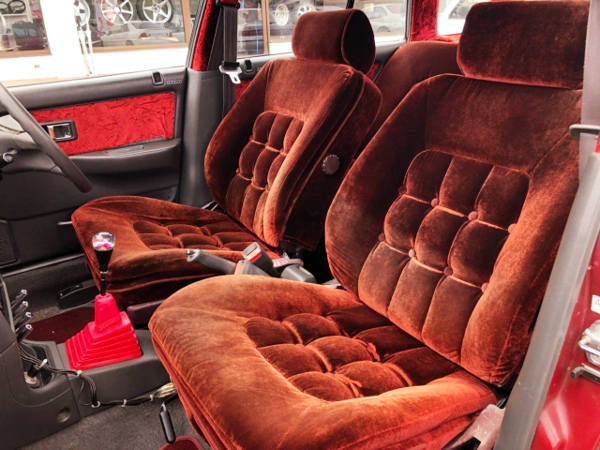 GX71 FRONT SEATS CONVERSION