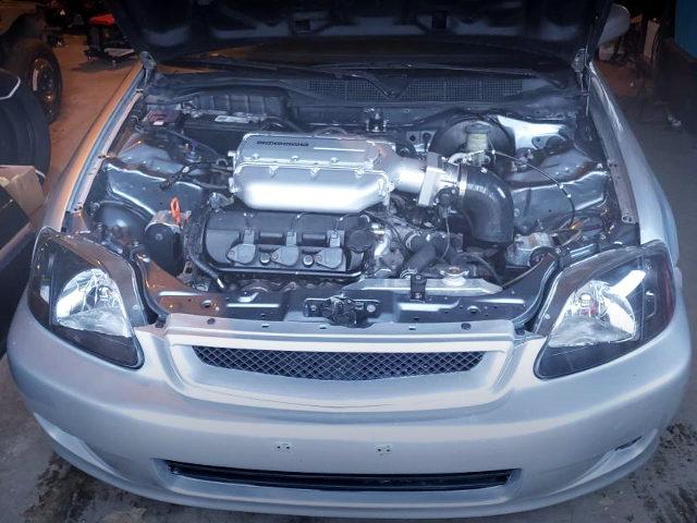 J35A V6 3500cc VTEC ENGINE