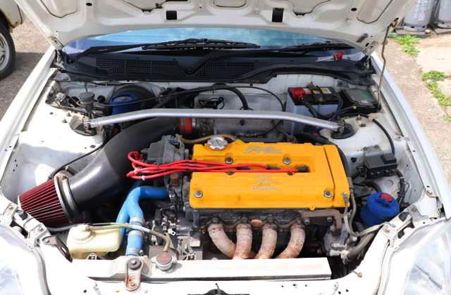 B18C VTEC ENGINE SWAP OF EK9R ENGINE ROOM