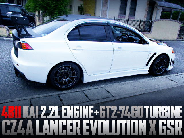 4B11 2200cc GT2-7460 TURBO ENGINE CZ4A EVO10 GSR