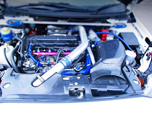 4B11 TURBO ENGINE OF EVO10 GSR