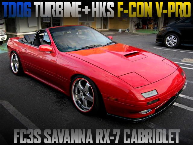 TD06 TURBINE AND F-CON V-PRO WITH FC3S RX7 CABRIOLET