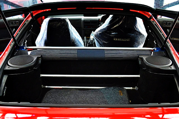 FC3S RX-7 TRUNK ROOM