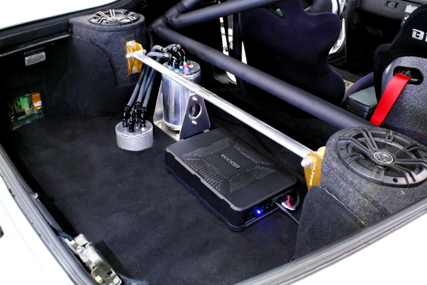 TRUNK ROOM OF FC3S RX-7