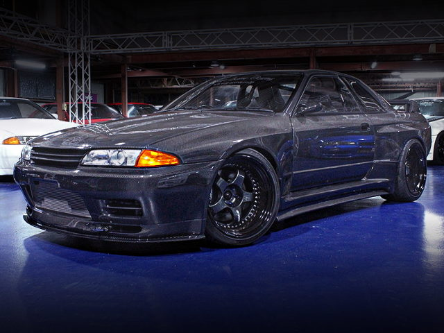 FRONT EXTERIOR CARBON BODY R32 GT-R