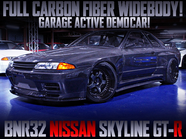 FULL CARBON FIBER WIDEBODY FOR R32 SKYLINE GT-R