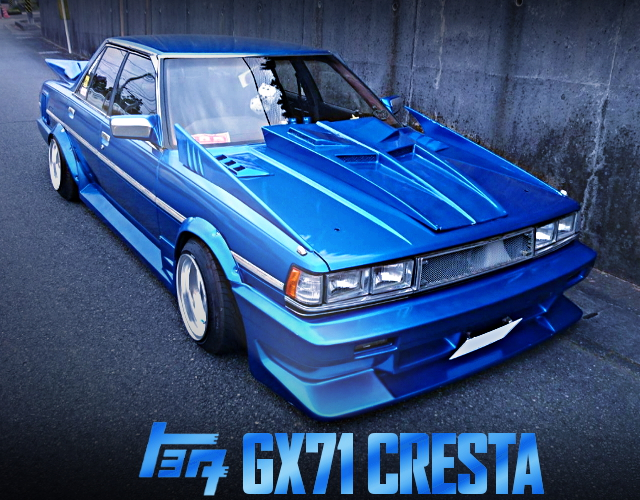 KAIDO RACER CUSTOM GX71 CRESTA BLUE METALLIC