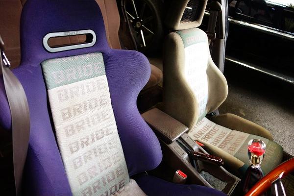 BRIDE SEMI BUCKET SEATS