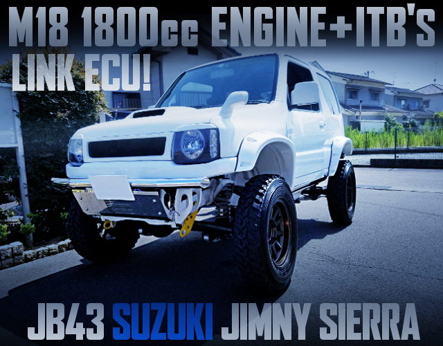 M18 ENGINE AND ITBs WITH JB43 JIMNY SIERRA