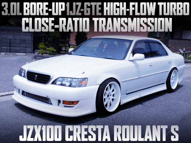 3L BORE-UP 1JZ with HIGH FLOW TURBO INTO A JZ100 CRESTA ROULANT S
