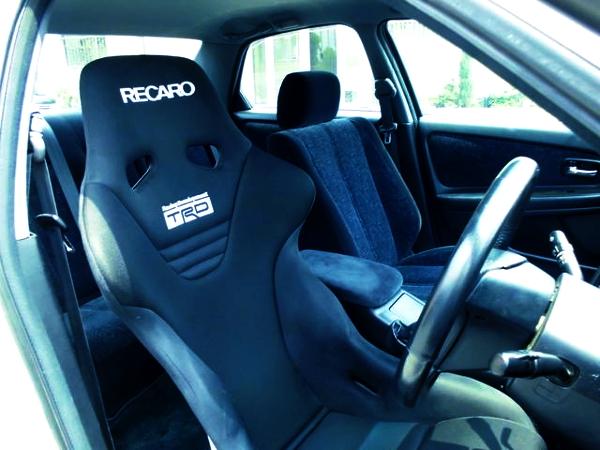 RECARO FULL BUCKET SEAT OF DRIVER POSITION