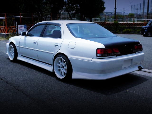 REAR EXTERIOR JZX100 CRESTA ROULANT S WHITE