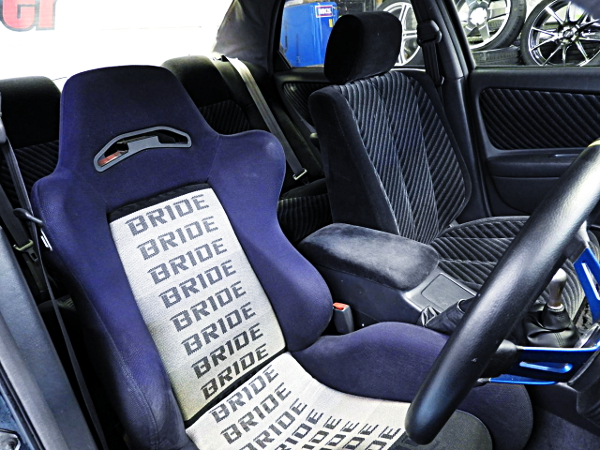 DRIVER POSITION FOR BRIDE SEMI BUCKET SEAT