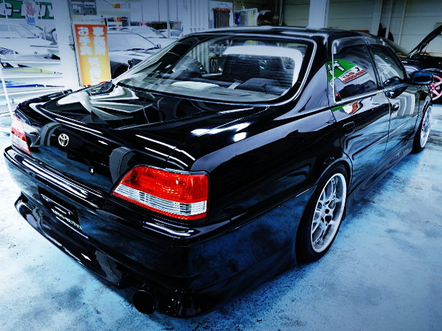 REAR EXTERIOR FOR JZX100 CRESTA ROULANT G OF AP BLACK